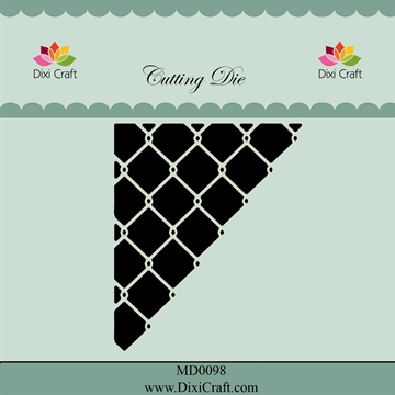 Dixi Craft - Die - Wire corner (Inside out)